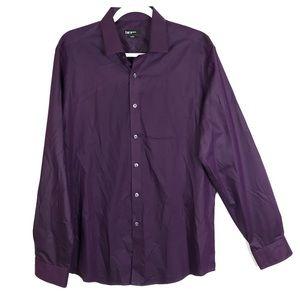 Bar III Slim-Fit Performance Solid Dress Shirt